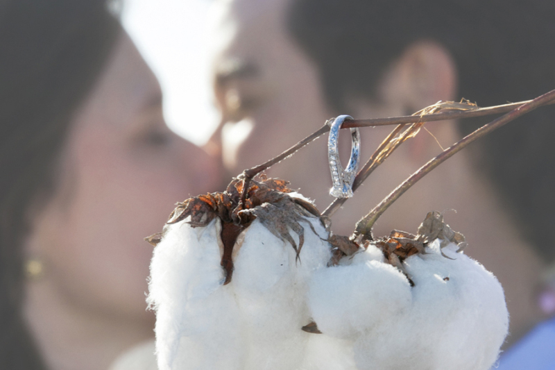 Anne & Will Engagement From Dreamy Cotton Fields to the City